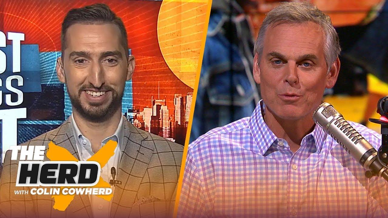 Nick Wright: Big Ben – Antonio Brown should've 'made it work', defends Tom Brady – NFL – THE HERD