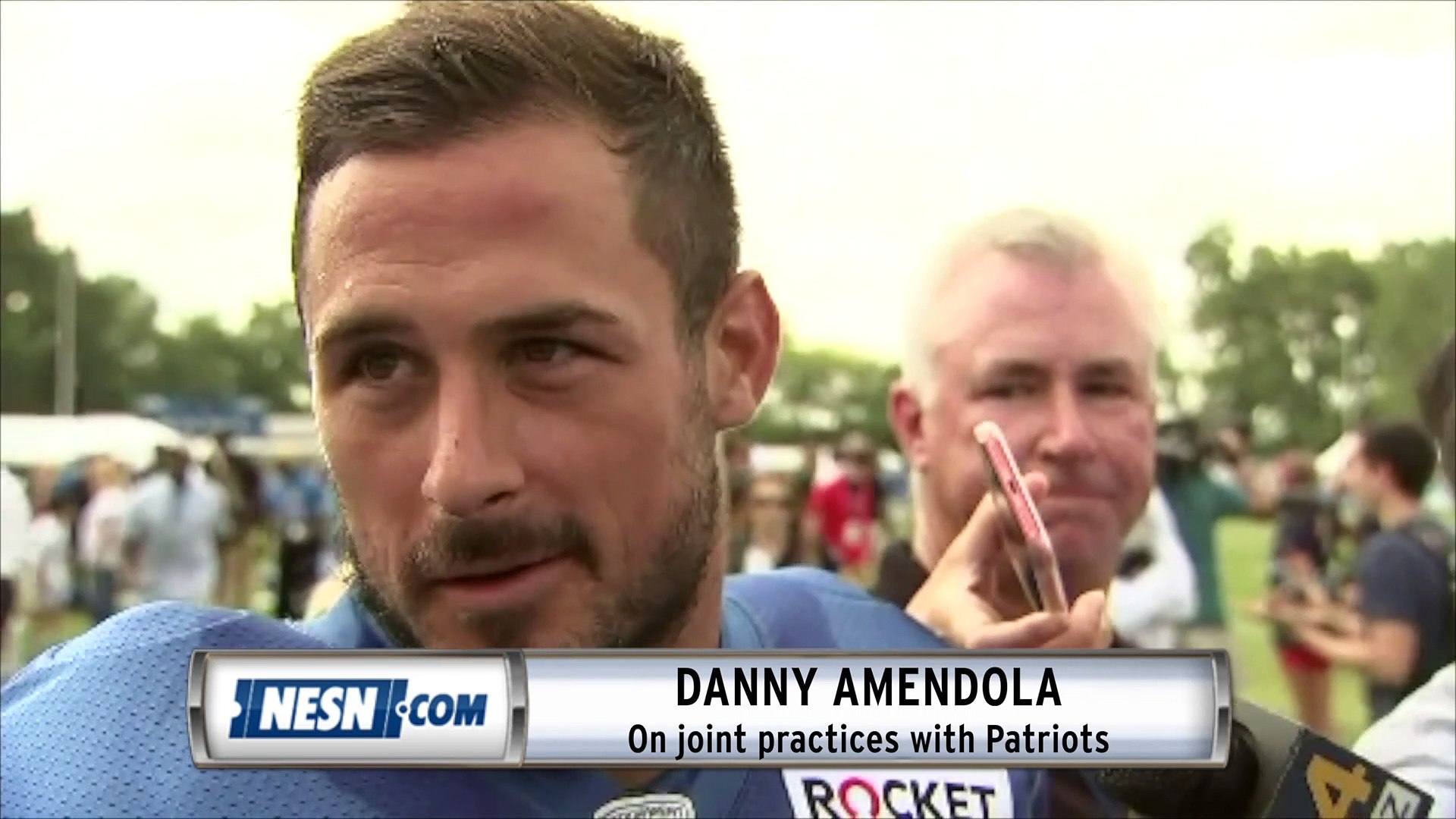 Danny Amendola On Working With Matt Patricia Practicing Against Patriots