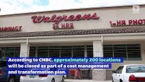 Hundreds of Walgreens Stores to Shut Down in the US