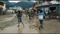 En video: damnificados de Mocoa llegan a Cali buscando abrigo tras la tragedia