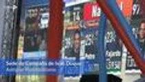 Las emociones que dejaron los resultados de las elecciones en las sedes de campaña de Cali