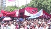Multitudinaria marcha en Argentina para pedir mejores condiciones laborales al Gobierno Nacional