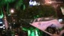 Pase lo que pase, los hinchas del Deportivo Cali ya viven una fiesta
