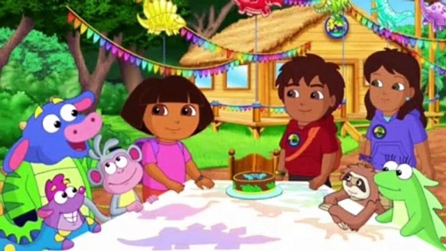 Dora the Explorer S08E15 - Dora and Diego in the Time of Dinosaurs