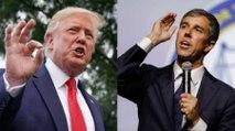 Trump Tells Beto O'Rourke to 'Be Quiet' Before El Paso Visit