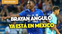 Bryan Angulo llegó a México y afirma que eligió Cruz Azul por su grandeza y futbol
