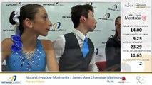 Championnats québécois d'été 2019 présenté par Kloda Focus Événements , Pré-Novice Danse sur Tracé