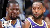 Kevin Durant could surpass LeBron with the Nets - Max Kellerman - First Take