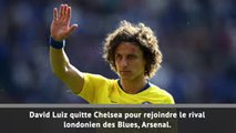 Transferts - David Luiz débarque à Arsenal