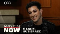 """I practiced every single night"": Manny Gutierrez explains how he learned to do makeup"