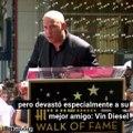 La muerte de Paul Walker devastó a Vin Diesel, así el actor afrontó la partida de su amigo