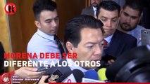 Morena debe demostrar que somos diferentes: Mario Delgado