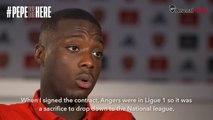Exclusif: Nicolas Pepe, parle de sa famille, de son rôle de gardien de but, et son parcours