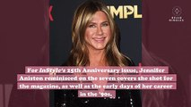 Jennifer Aniston explained why she's nostalgic for Friends and the '90s, and, honestly, same