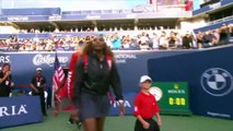 Serena Williams defeats Elise Mertens 6-3, 6-3 in WTA Rogers Cup
