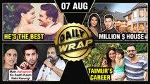 Priyanka Nick Million Dollar Home, Deepika Praises Ranveer, Taimur's Career Plans | Top 10 News