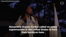 "AOC Plea To White Supremacists: ""Come Back"""