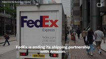 FedEx Cutting Shipping Ties With Amazon
