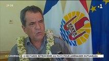 L'Etat cède au pays pour un euro symbolique les terres de Hotuarea à Faa'a