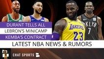 Kevin Durant Rumors, LeBron James Minicamp, Ben Simmons Incident - Rich Paul Rule - NBA Rumors