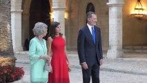Recepción de los Reyes a las autoridades de las Illes Balears en el Palacio Real de la Almudaina, en vídeo