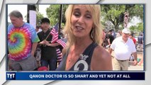QAnon and Pizzagate Conspiracy Theorists Rampant at Trump Rallies