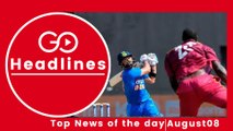 Top News Headlines of the Hour (8 Aug, 1:00 PM)