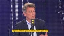 """Mort du maire de Signes : """"On est en train de tuer à petit feu les communes rurales et les maires de ces communes"""", estime Fabien Roussel"""