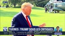 Tueries : Trump sous les critiques