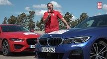 VÍDEO: Comparativa entre BMW 330i y Jaguar XE, ¿cuál es mejor?