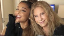 Ariana Grande performs surprise duet with Barbra Streisand