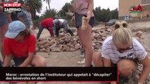 """Maroc : arrestation de l'instituteur qui appelait à """"décapiter"""" des bénévoles en short  (vidéo)"""
