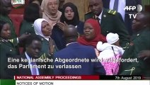 Nicht ohne meine Tochter: Kenianische Abgeordnete soll Parlament verlassen