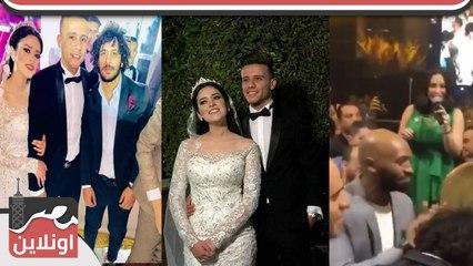 بوسي تشعل حفل زفاف مصطفي فتحي بحضور نجوم الرياضة