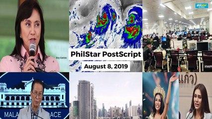 Postscript August 8, 2019