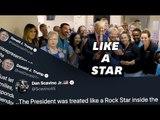 """Trump, """"une rock star"""" à Dayton et El Paso? L'expression n'a pas plu à tout le monde."""