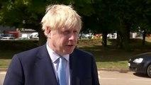 Boris Johnson on Leyton police stabbing