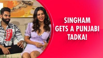Funniest Interview Of The Punjabi Singham Jodi | Parmish Verma & Sonam Bajwa Spill All Secrets