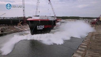 Amazing Ship Launching Compilation
