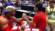 Un bodybuilder contre un pro de bras de fer : pas du tout la fin que vous allez prédire