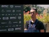 Richie Porte Interview après son abandon du Tour de France (Anglais)