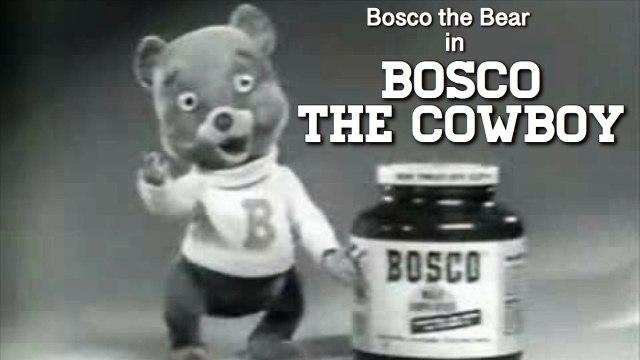 "Bosco Bear in ""Bosco the Cowboy"""