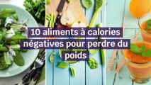 10 aliments à calories négatives pour perdre du poids