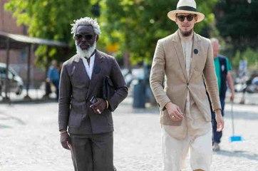 Un look de moda para hombres mayores de 50 años