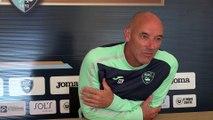 Avant Troyes - HAC, interview de Paul Le Guen