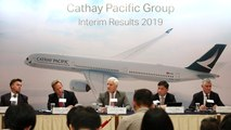 Cathay Pacific says it respects staff taking part in protests despite drop in ticket sales
