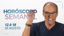 Horóscopo Semanal de 12 a 18 de Agosto | João Bidu