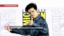 How Adam Sandler Saved Cole Sprouse