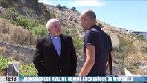 """""""Je suis l'évêque de tout le monde, chrétiens comme non-chrétiens"""", déclare Mgr Aveline, nommé aujourd'hui à Marseille"""