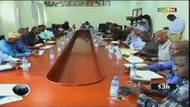 OORTM - Visite des membres de la commission nationale des droits de l'homme CNDH à la  cour suprême